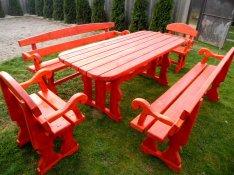 Új Elegáns kerti bútor garnitúra eladó 10 személyes jó árban
