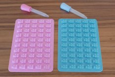 Új Gumimaci szilikon forma, csokiforma, jégkocka, gumicukor, gyereknap