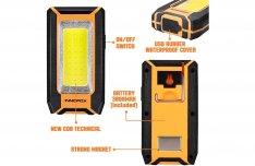 Új Innofox tölthető LED munkalámpa (E0713)