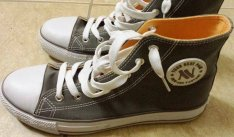 8bdc930ec20f Új New Age szürke száras Converse típusú 39-es méretű cipő Eladó, 1.