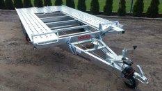 Új Pongratz (L-AT 400) 2600 kg-os autószállító utánfutó akciós áron