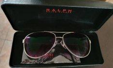 Új Ralph Lauren ezüst könnyű női napszemüveg keret