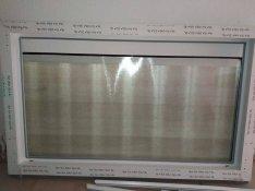 Új Rehau Ecosol hőszigetelt, fix üvegezésű, 3 rétegű, műanyag ablak
