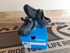 Új Shimano kerékpáros 37-es cipő 37 bicikli 23 cm. SPD