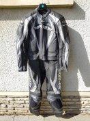 Új Spidi kétrészes púpos motoros bőrruha 48-as - postázom is