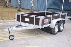 Új Trigano 2D250 (250 x 132 cm) 750 kg-os utánfutó eladó készletről