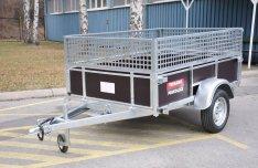 Új Trigano D200 (200 x 132 cm) 1 tengelyes 750 kg-os utánfutó eladó