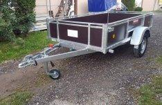 Új Trigano D250 (250 x 132 cm) 750 kg-os utánfutó eladó, 319.000,-Ft