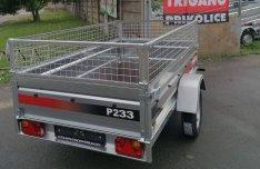 Új Trigano P233 - 1 tengelyes 750 kg-os utánfutó, 299.000,-Ft