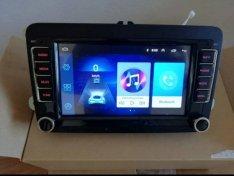 Új VW Android autó Multimédia passat golf seat 2din autórádió hifi gps