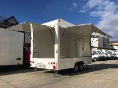 Új! Profi Büfékocsi Food Truck Mozgóbolt Elárusító