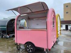 Új! Profi Büfékocsi Food Truck Mozgóbolt Elárusító Büfékocsik