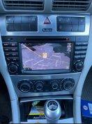Új android Mercedes c w203 clk clc w209 fejegység autórádió GPS wifi