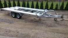 Új billenő platós Pongratz (L-AT 400) 2600 kg-os autószállító utánfutó