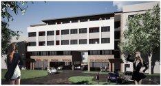 Új építésű társasházban üzlethelyiségek/lakások eladók