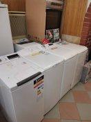 Új és újszerű Márkás prémium felültöltős mosógép már 40e Ft-tól garanc