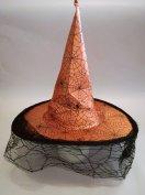 Új pókhálós boszorkány kalap boszi kalap boszorkány süveg boszi süveg