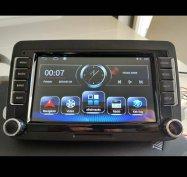 Új vw 2GB RDS android autó multimédia rádió hifi skoda seat gps