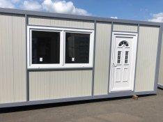Újonnan épített 21nm-es mobilház fürdőszobával