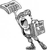 Újságterjesztő jogosítvánnyal