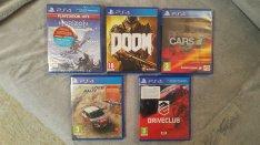 Újszerű és új PS4 játékok eladók