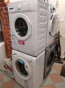 Újszerű keskeny /40cm! /elöltöltős mosógép 40e Ft-tól számlával, garan