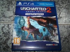 Uncharted 2: Among Thieves Remastered PS4 eredeti játék