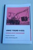 Unhz-750 (ND 4-022) kezelési és katalógus