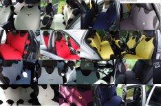 Univerzális hímzett trikó üléshuzat minden autóba