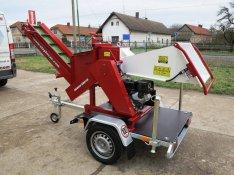 Urban SMH70 benzinmotoros ágaprító, rendszámozható, vontatható