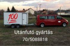 Utánfutók 450kg-3500kg össztömegig