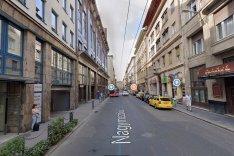 VI.ker. Belváros, Nagymező U. 50m2, Utcai,Melegkonyhás,Kirakatos Üzlet