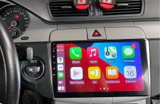VW Passat B6 B7 CC Android autórádió fejegység gyári helyre Carplay