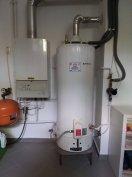 Vailant gázkazán és Quadriga vízmelegítő tartály eladó