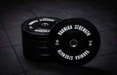 Varnika Strength Standard Bumper Plate olimpiai súlytárcsa