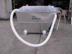 Vízsugaras vágógép kiegészítő : Abrazív eltávolító / Ülepítő rendszer