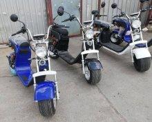 White Elektromos chopper / motor e-harley A legjobb áron!