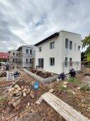 XVIII. kerületben új építésű szélső sorház hamarosan költözhető