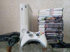 Xbox 360 fat 16GB! Flash! 21 játék! HDMI!