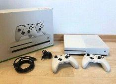 Xbox One S (Slim) 1 TB Új, csak kipróbált! 1 Év Garancia!