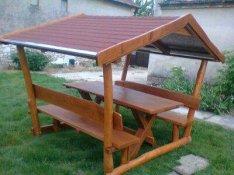 Zsindely tetős kerti kiülő