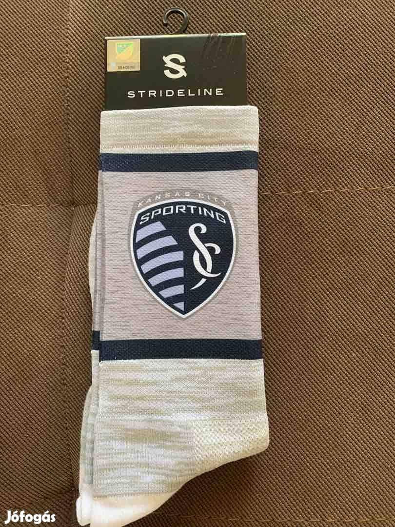 20 pár Strideline Sporting Kansas City MLS foci futball zokni