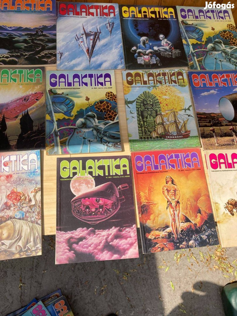 36 db Galaktika magazin