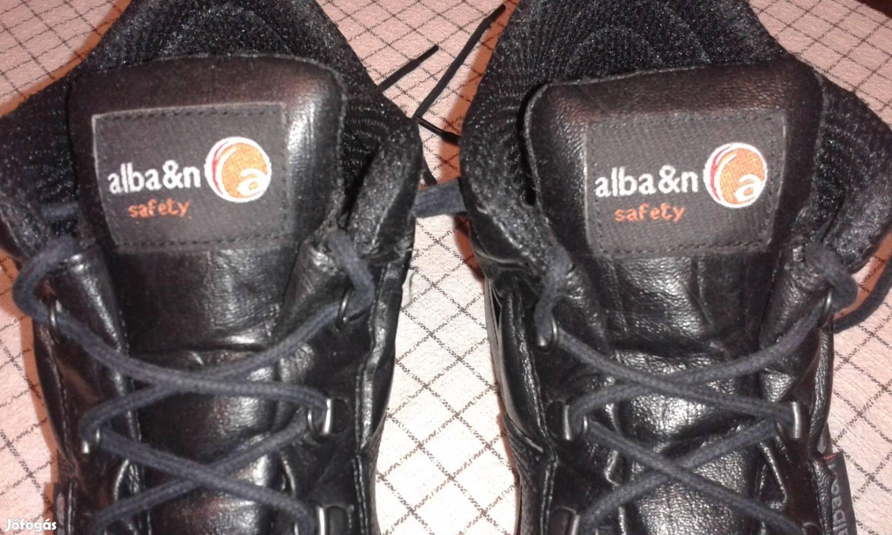 45- 46 - os Alba&n safety fekete bakancs eladó Pécsen !, 3. Kép
