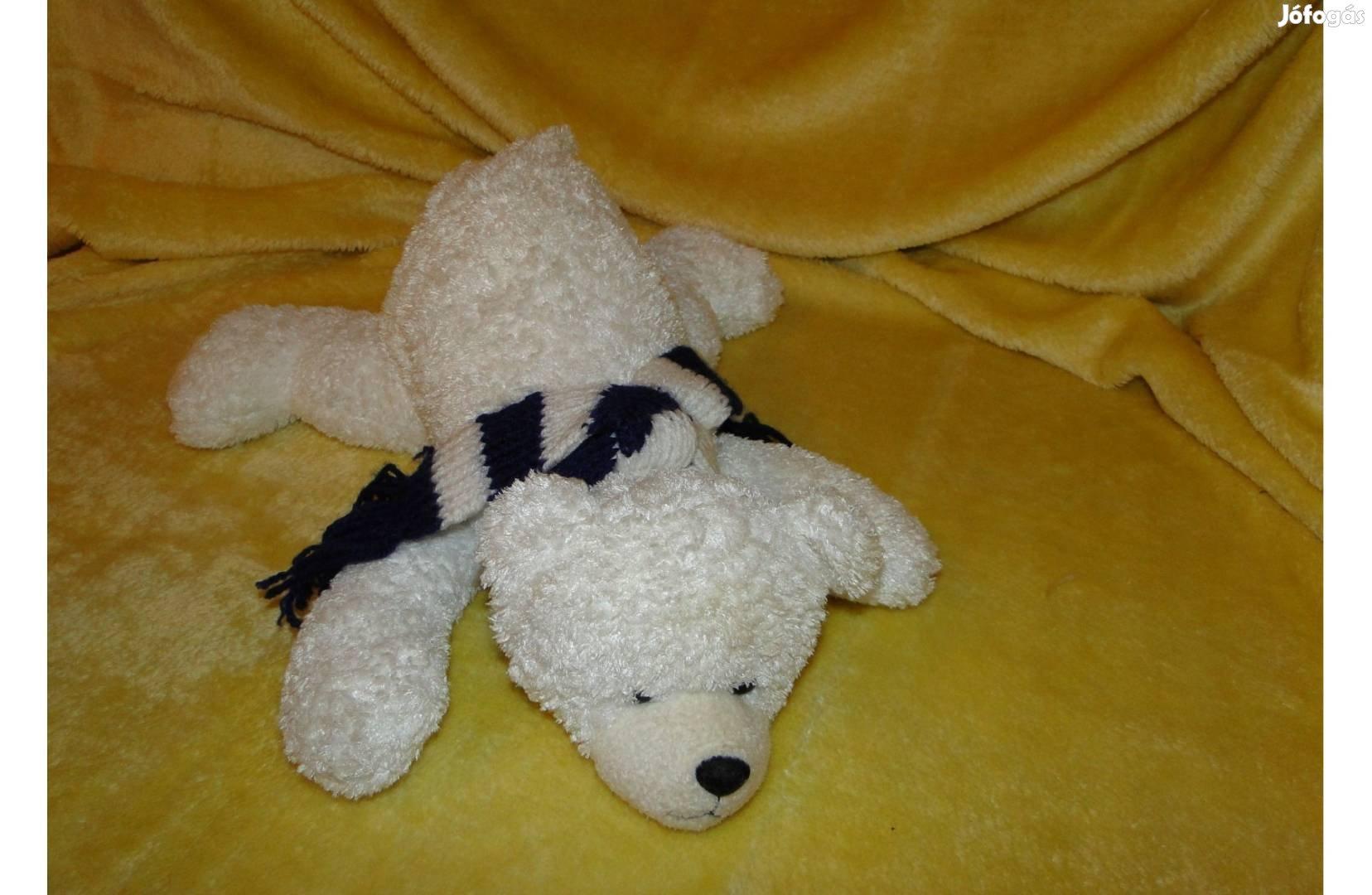 45 cm es Jeges maci , medve , mackó , sállal a nyakában. Minőségi ,, 1. Kép