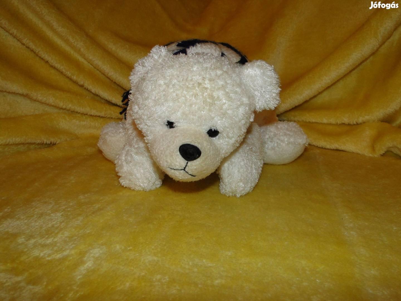 45 cm es Jeges maci , medve , mackó , sállal a nyakában. Minőségi ,, 4. Kép