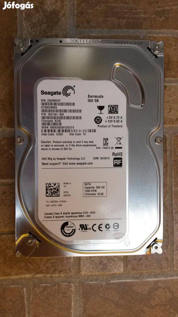 500 GB Sata3 HDD, Több db, Hibátlan, Garancia + Top ár!