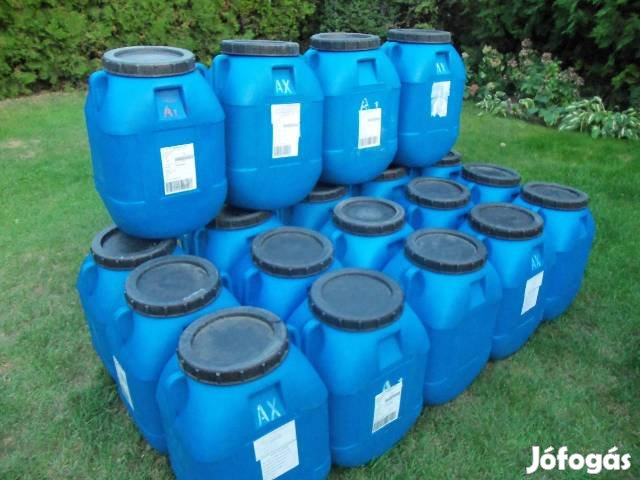 60 l műanyag hordó ingyenes kiszállításal ! Több darabnál árkedvezmény