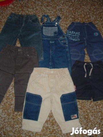 86/92 méretű kisfiú nadrágok