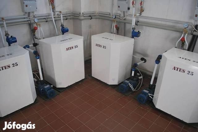 ATES hőszivattyú sokkal hatékonyabb a kondenzációs kazántól
